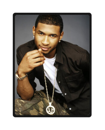 usher throw fleece blanket