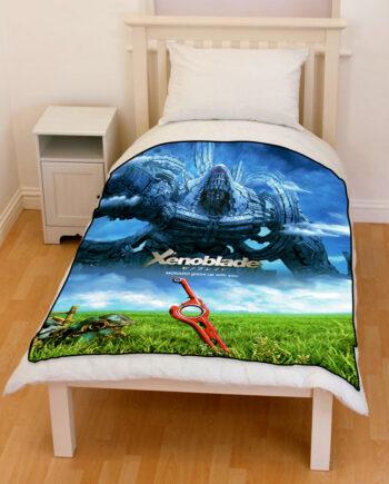 xenoblade Chronicles bedding throw fleece blanket