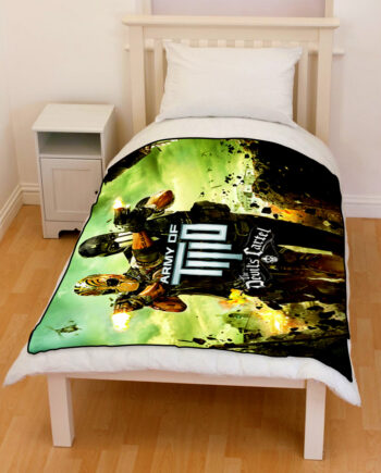 Army of Two The Devil's Cartel throw fleece blanket