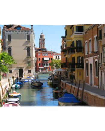 venice rio di san vio pillow case