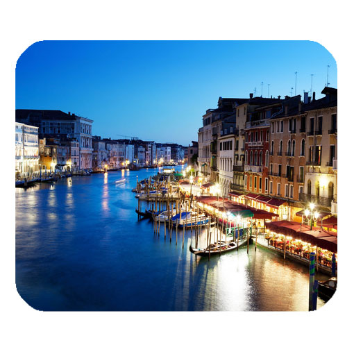 grand canal in venice italy sunset mousepad