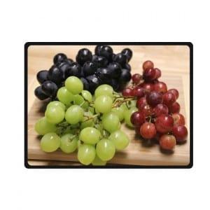 grapes bedding throw fleece blanket