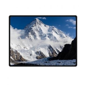 k2 mountain bedding throw fleece blanket