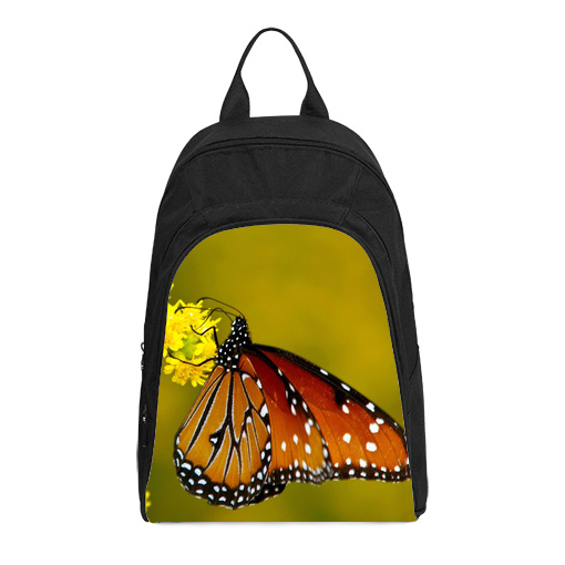 monarch butterfly casual backpack