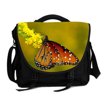 monarch butterfly laptop bag