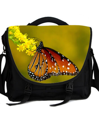 monarch butterfly laptop bag