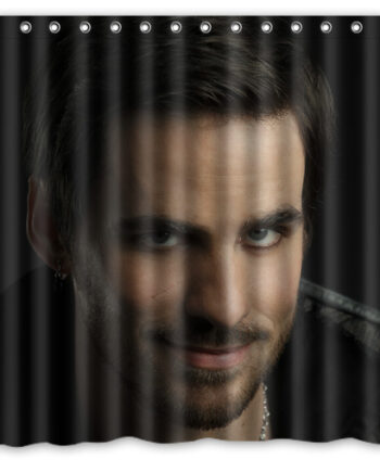 once upon a time colin o'donoghue shower curtain