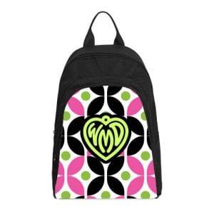 monogram cirque pink black casual backpack