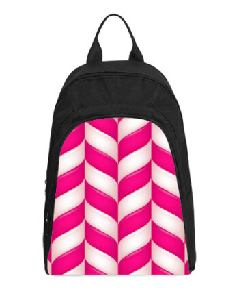 abstract candies pattern casual backpack