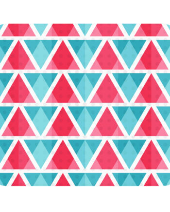 abstract bright triangles pattern mousepad