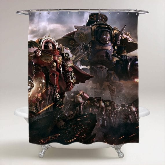 Dawn of War III DOW 3 Bathroom Shower Curtain