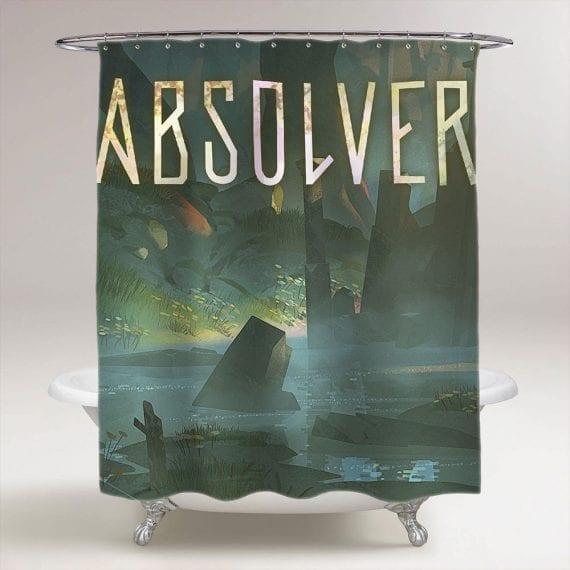 Absolver Bathroom Shower Curtain