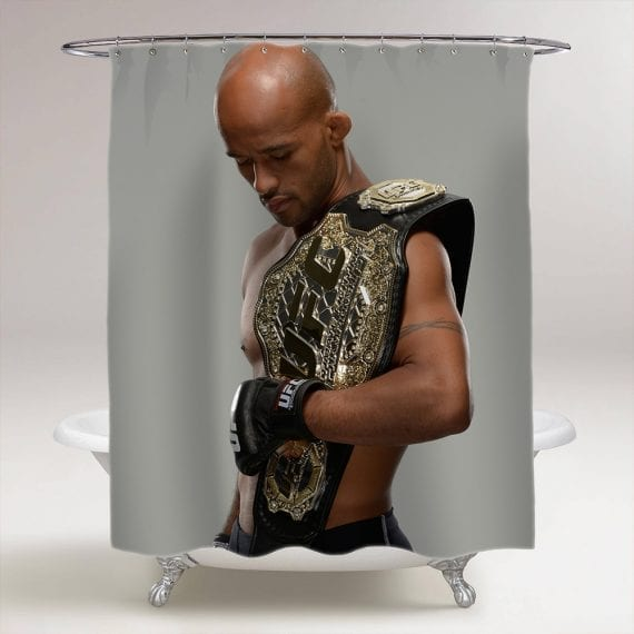 UFC Demetrious Johnson Bathroom Shower Curtain