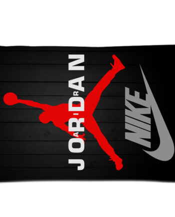 Michael Jordan Chicago Bulls Swoosh pillow case cover