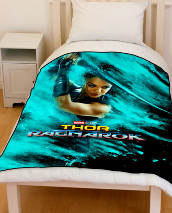 thor ragnarok Valkyrie bedding throw fleece blanket