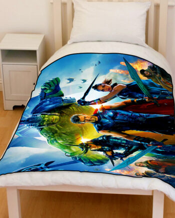 thor ragnarok bedding throw fleece blanket