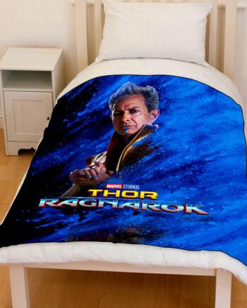 thor ragnarok grandmaster bedding throw fleece blanket