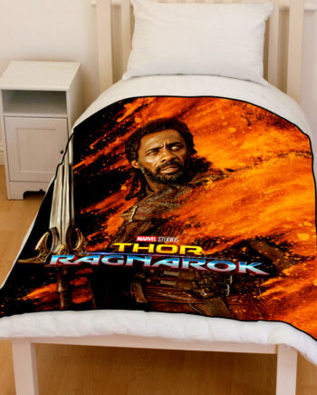 thor ragnarok heimdall bedding throw fleece blanket