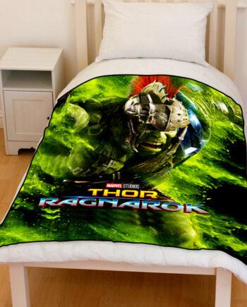 thor ragnarok hulk bedding throw fleece blanket