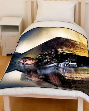 x-men quicksilver bedding throw fleece blanket