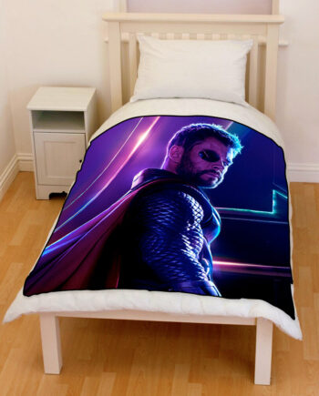 Avengers Infinity War Thor 2018 bedding throw fleece blanket