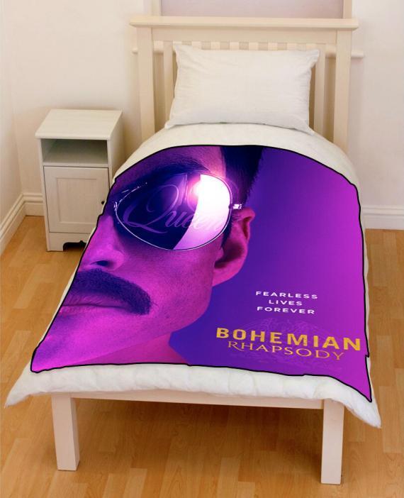 BOHEMIAN_RHAPSODY Freddie Mercury 2018 bedding throw fleece blanket