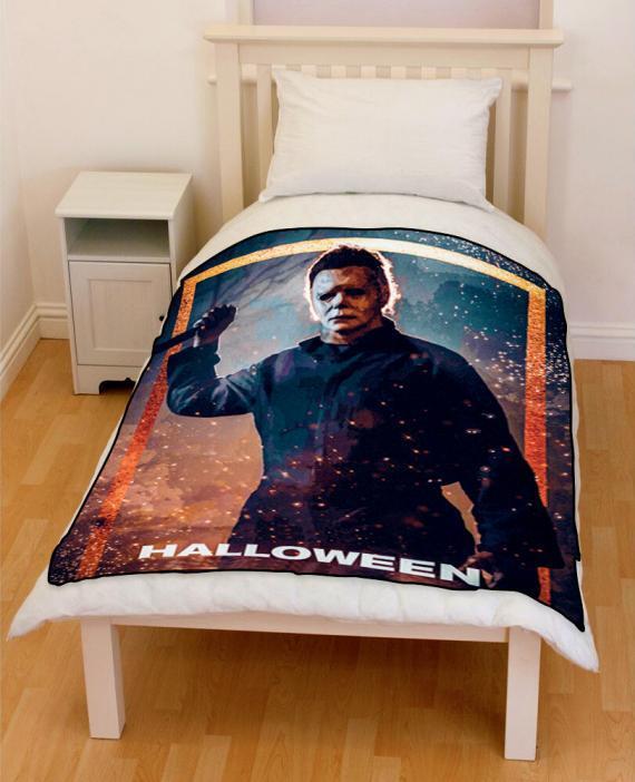 Halloween 2018 bedding throw fleece blanket