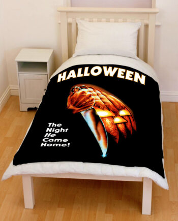 Halloween 2018 the night he came home bedding throw fleece blanket
