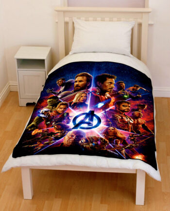 avengers infinity war superheroes 2018 villains bedding throw fleece blanket