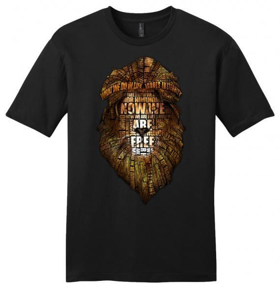 gladiator movie now we are free black unisex shirt