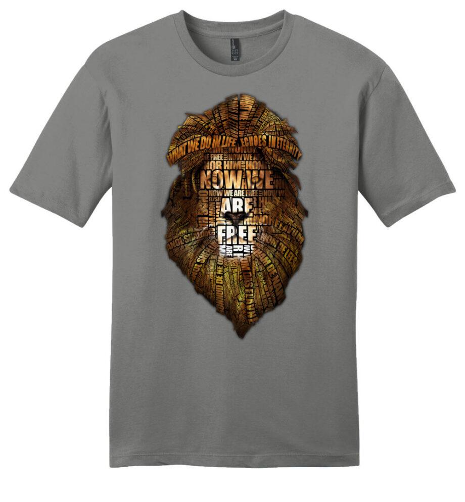 gladiator movie now we are free grey unisex shirt