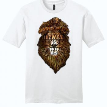 gladiator movie now we are free white unisex shirt
