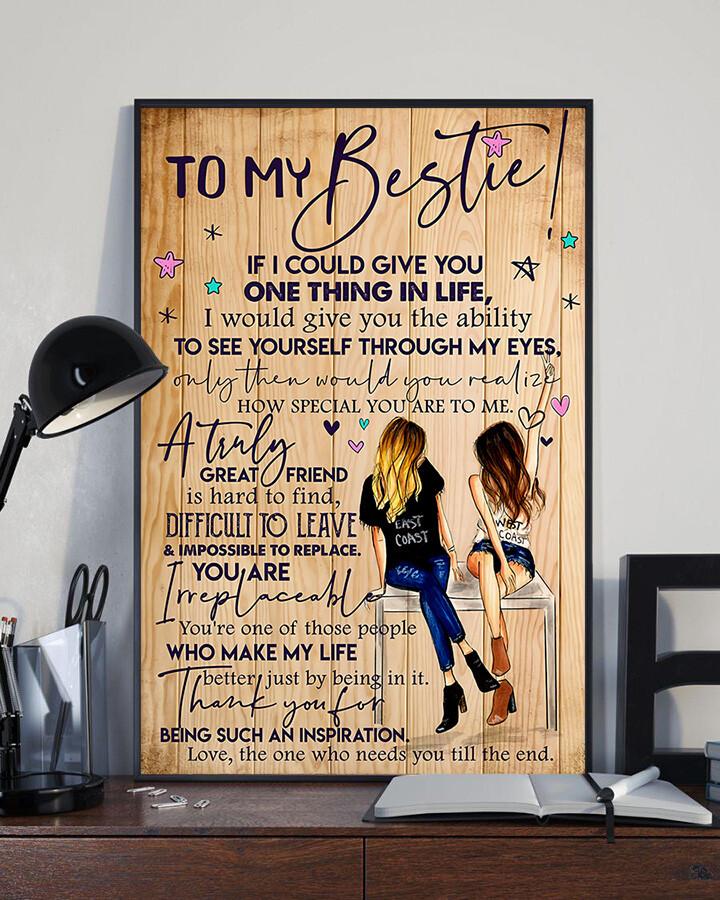 bestie girlfriend poster no frame