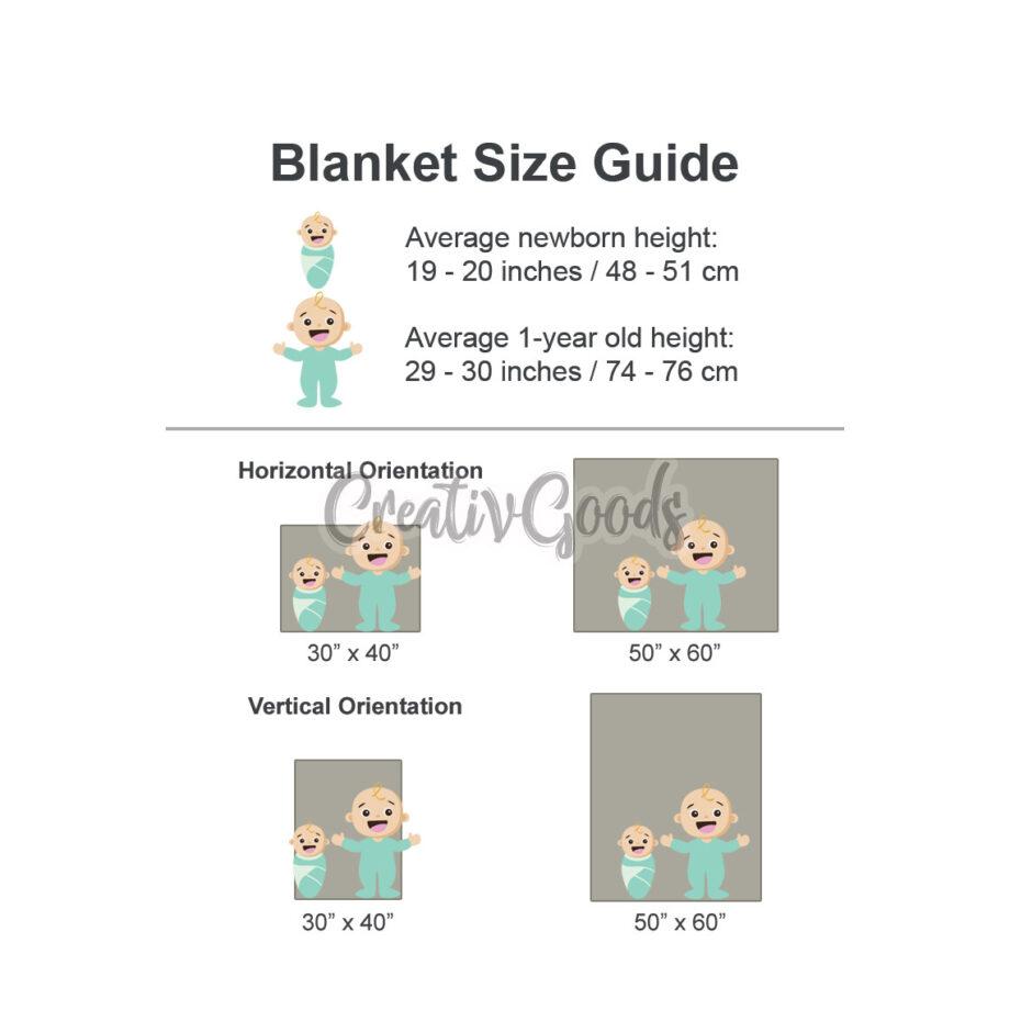 Baby Blanket Size CreativGoods