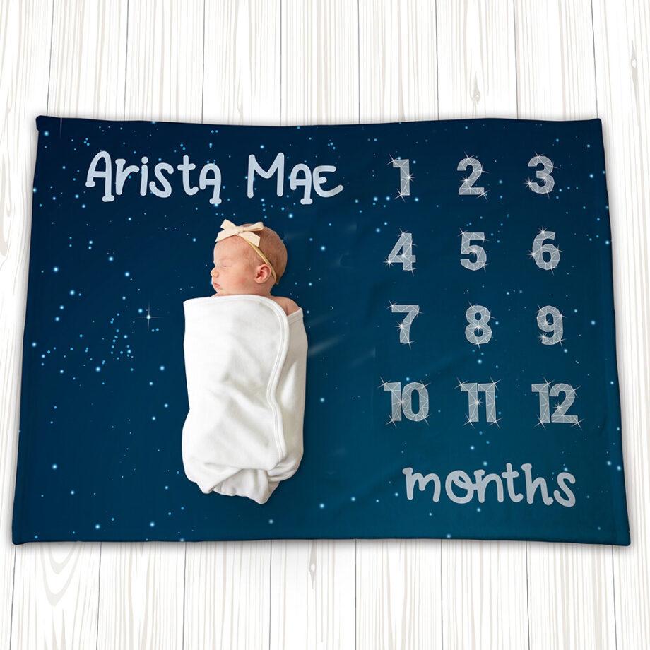 star constellation milestone blanket