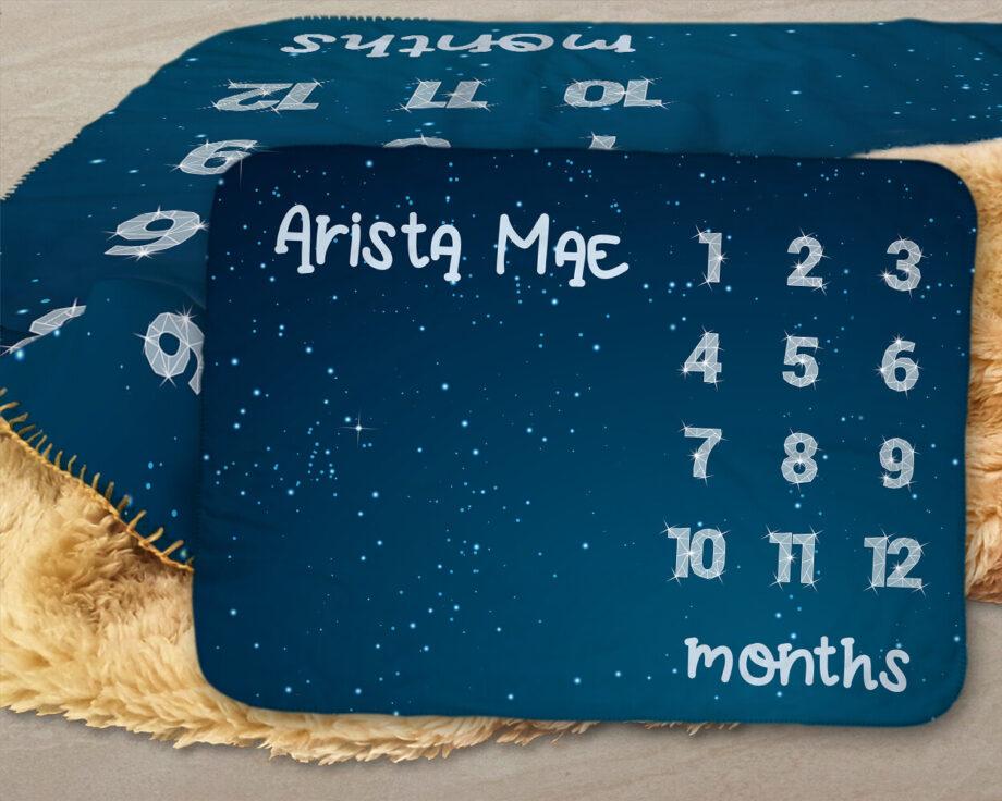 star constellation milestone sherpa blanket 2