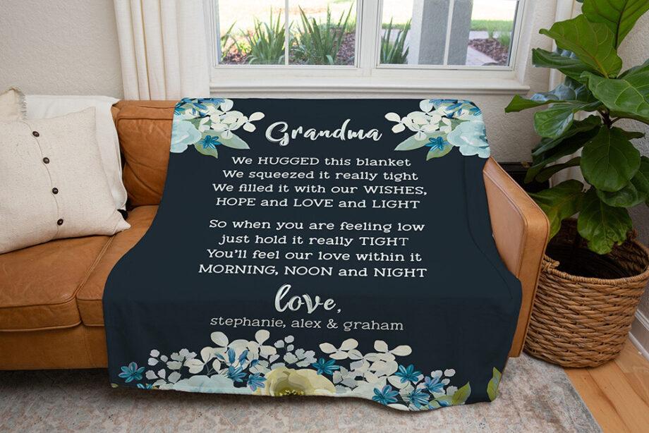 Personalized Grandma Blanket