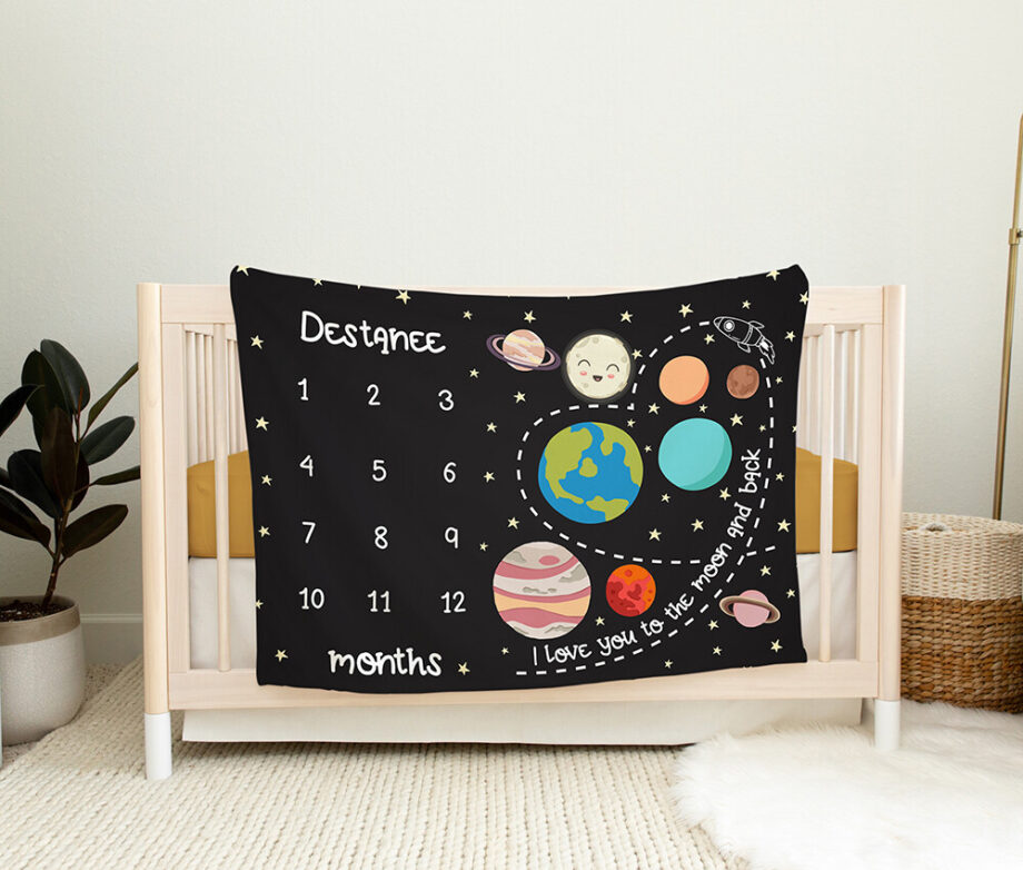 solar system outer space baby milestone blanket3