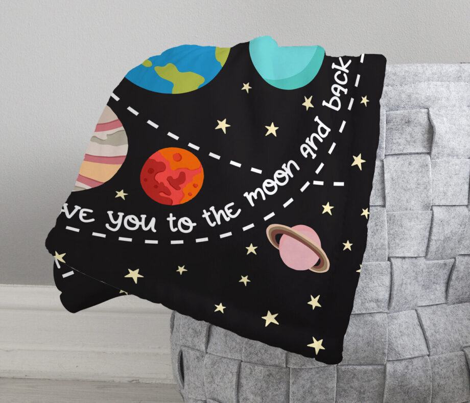 solar system outer space baby milestone blanket4